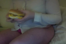 My Belly Needed One More Hamburger To Be Happy Guess I Need To Buy A New Shirt - Bbw - 95