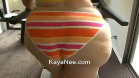 Ssbbw KayaNee Exercises Her Fat Pear Ass - Part 2