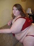 Paige Red and Stockings 161