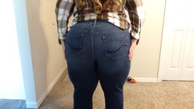 BBW in tight new Fall jeans!