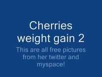 BBW Cherries weight gain