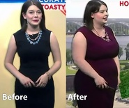local weather girl weight gain