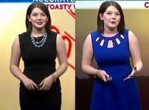 Local Weather Girl Thick In Blue Friday
