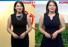 Local Weather Girl Thick And Pretty In July