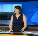 Local Weather Girl Large And In Charge