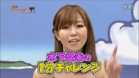 Thumbzilla Japanese TV Show girl coke chugging and burping