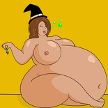 Maria Fat for Halloween