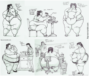 The Weight Gain Of Jenny Weng Pt 2 By Ray-Norr-