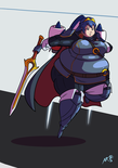 super smashing   jet pack lucina by axel rosered d9qyicg-fullview