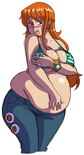 Fat timeskip nami by axel rosered