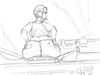 Get Your Ass In The Tank! (Sketch) by FoxFire486 718706505