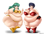 commission  plump lum and ton of benten by thepervertwithin dclf0xv